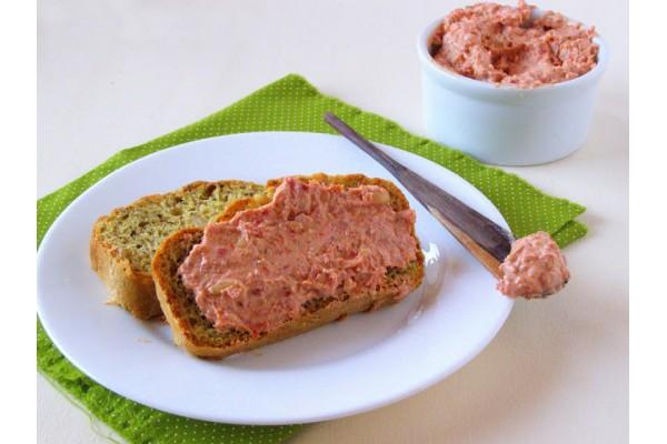 Pasta de damasco /pasta de alho porró/ pasta de ricota e  alho / pasta de tomate seco Kg – 12 pessoas