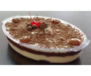 Pavê de chocolate e creme Pirex